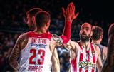 Олимпиакос был хорош в Стамбуле, а Панатинаикос крупно проиграл в Барселоне