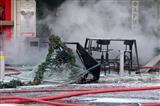 Взрыв на площади Виктория: есть погибшая