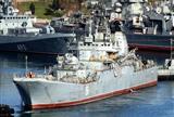 У берегов Родоса сухогруз столкнулся с российским десантным кораблем (фото)