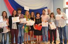 Граждане Греции получили сертификаты о знании русского