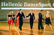 Танцы нон-стоп на всегреческом турнире Hellenic DanceSport Open
