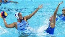 К матчу с олимпийскими чемпионками греческие ватерполистки подходят во всеоружии