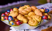 Пасхальные сладости Греции: апельсиновое печенье