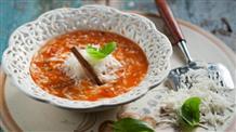 Томатный суп с макарончиками: вкусно и постно
