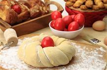 Вкус греческой Пасхи: сладкая булочка