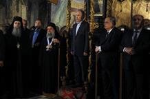 «Недоразумение» на церемонии на Афоне: монахи, Путин, Павлопулос и престол (фото, видео)