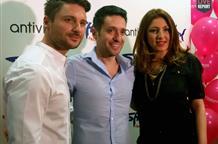 Сергей Лазарев выступил в Греции, спев с Еленой Папаризу