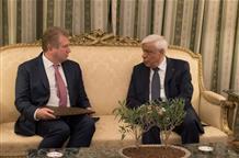 Президент Греции принял посла Казахстана
