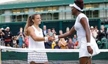 Молодая греческая теннисистка на равных сражается с легендарной чемпионкой