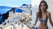 Беспроигрышный ракурс: Эмили Ратажковски сделала Греции отличную рекламу (фото)