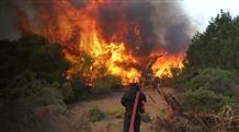Пожарный погиб после трех часов борьбы с огнем