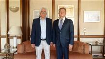 Посол Казахстана встретился с греческим министром