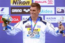 Через все трудности и преграды греческий пловец завоевывает олимпийскую медаль