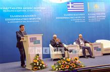 Первая греческая торговая миссия прибыла в Астану (фото)