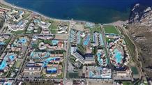 Родос: как выглядит греческая «деревня» из первоклассных отелей с высоты (видео)