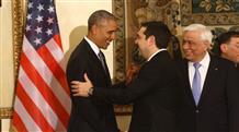 «Στην υγεία σας!»: Обама о госдолге Греции, партнерстве в НАТО и о Трампе
