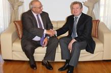 Глава парламентской группы посетил посольство Казахстана в Афинах