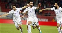 Греция спасается от поражения за несколько секунд до конца матча