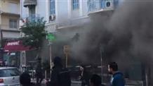 В центре Афин прогремел взрыв (фото, видео)