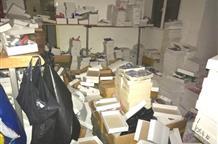 В Афинах найден склад с подделками дорогих брендов