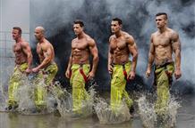"""Греческие пожарные """"зажгли"""" на рождественской вечеринке (видео)"""