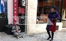 Рождество и жертвы равнодушия: дети-попрошайки на улицах Афин