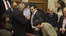 Бюджет Греции приняли даже с больным левым