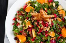 Греческий салат на Рождество: вкус мандарина и граната