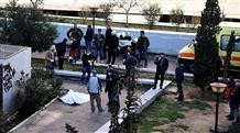 Афины: преступник, ранив полицейского, покончил с собой