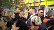 В Греции националисты напали на школу, где учат беженцев (видео)