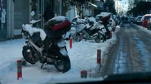 Непогода не отпускает Грецию: снег вновь в Аттике