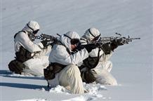 Греческие десантники голыми тренируются в снегу (фото)