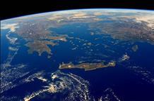 Астронавт передал привет Афинам с Международной космической станции