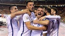 В меньшинстве сборная Греции отстаивает очко на поле фаворита