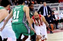 Баскетбольный Олимпиакос поздравляет клуб с днем рождения важной победой