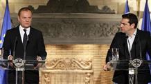 Ципрас попросил Туска о саммите еврозоны в случае провала переговоров с кредиторами