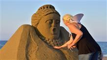 Фестиваль скульптур из песка пройдет на Крите
