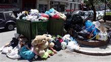 Забастовка в Афинах: тонны мусора и кошмарный коктейль в воздухе