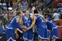 Греческие баскетболистки стартуют на ЕвроБаскете с победы над действующими чемпионками