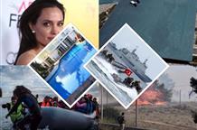 Турки в Греции и на границе, Анджелина Джоли по-гречески и новые тысячи беженцев