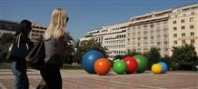 Афины украсили огромными цветными шарами: никто не ответил, зачем (фото, видео)
