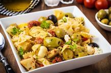 Люблю макароны: и холодные, и в салате по-гречески