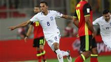 Ничейная серия сборной Греции прервалась. К сожалению, прервалась поражением