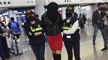 Модель из Греции арестовали в Гонконге с кокаином на 300 тысяч долларов (видео)