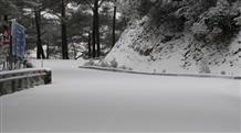 Снегопад в Греции вызвал коллапс на дорогах (видео)