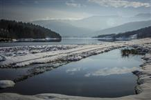 Магия зимнего озера Пластира (фото)
