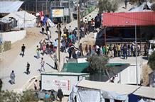 В Греции во время бунта в лагере мигрантов пострадали восемь полицейских