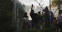 Сириец поджёг себя в лагере беженцев на острове Лесбос