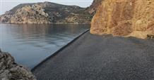 Где в Греции найти единственное в мире черное побережье? (фото)