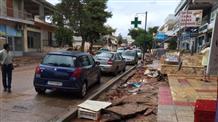 Аттику опять затопило: сообщения о жертвах пока не поступали (видео)